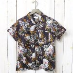 ENGINEERED GARMENTS『Camp Shirt-Botany Printed Lawn』(Dk.Navy)