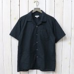 ENGINEERED GARMENTS『Camp Shirt-Floral Eyelet』(Black)