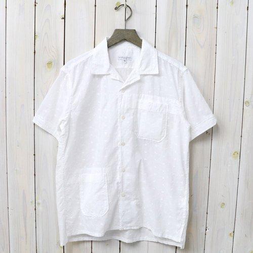 『Camp Shirt-Floral Eyelet』(White)