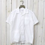 ENGINEERED GARMENTS『Camp Shirt-Floral Eyelet』(White)