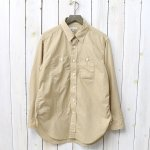 ENGINEERED GARMENTS『Work Shirt-Small Gingham Broadcloth』(Gold)