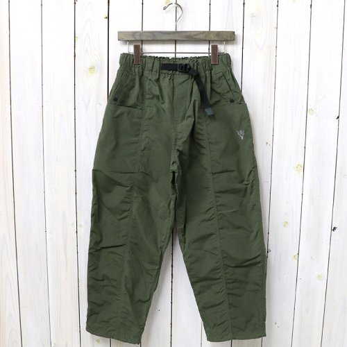 SOUTH2 WEST8『Belted Center Seam Pant-Wax Coating』(Olive)