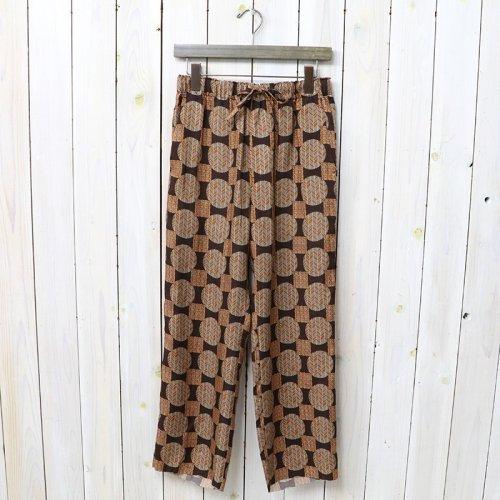 Needles『String Easy Pant-Cupra Sateen』(Brown)