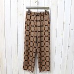Needles『String Easy Pant-Cupra Sateen』(Brown)