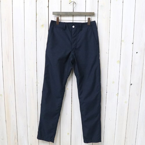 SASSAFRAS『SPRAYER PANTS(T/R PLANE WEAVE)』(NAVY)