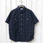 nanamica『H/S Check Wind Shirt』(Black Watch)