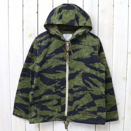 The REAL McCOY'S『TIGER CAMOUFLAGE PARKA/PURPLE FADE』