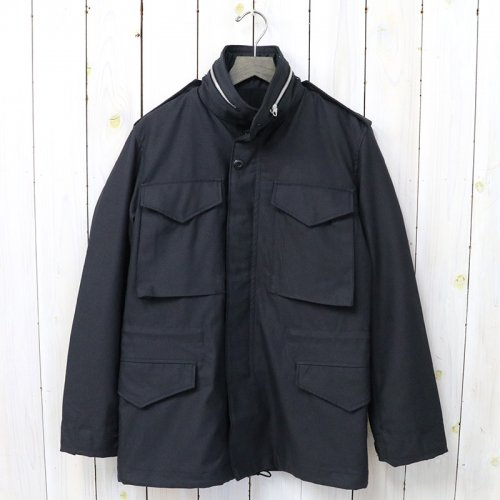 『M-65 FIELD JACKET/BLACK OVER-DYE』