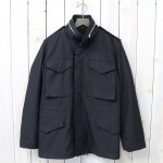 The REAL McCOY'S『M-65 FIELD JACKET/BLACK OVER-DYE』
