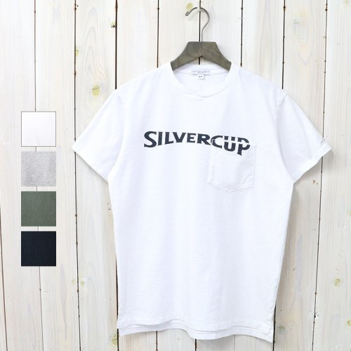 『Printed Cross Crew Neck T-shirt-Silvercup』