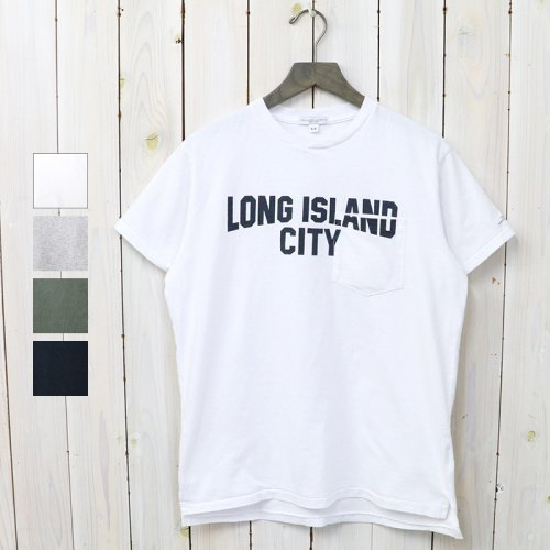 『Printed Cross Crew Neck T-shirt-Long Island City』