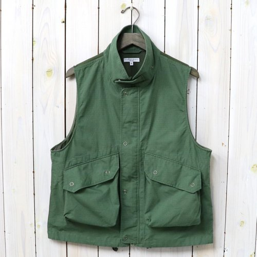 【会員様限定SALE】ENGINEERED GARMENTS『Field Vest-Cotton Ripstop』