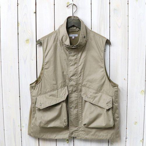 『Field Vest-High Count Twill』(Khaki)