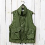 ENGINEERED GARMENTS『Field Vest-Nylon Micro Ripstop』(Olive)