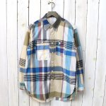 ENGINEERED GARMENTS『Work Shirt-Big Madras Plaid』(Khaki)