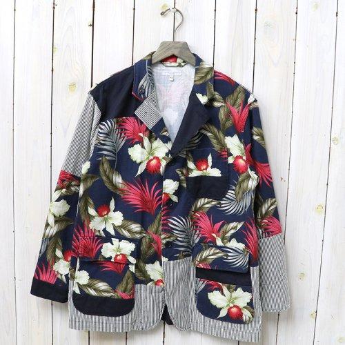 【会員様限定SALE】ENGINEERED GARMENTS『Loiter Jacket-Hawaiian Floral Java Cloth』