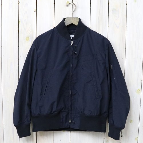 ENGINEERED GARMENTS『Aviator Jacket-Acrylic Coated Nylon Taffeta』(Navy)