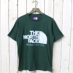 THE NORTH FACE PURPLE LABEL『H/S Logo Pocket Tee』(Green)