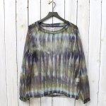 SOUTH2 WEST8『Bush Shirt-Mesh Print』(Tie Dye)