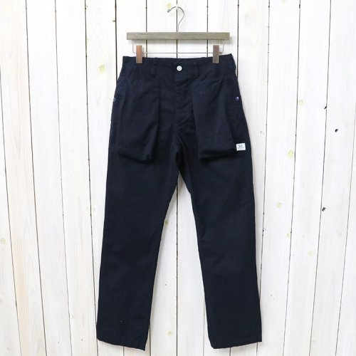 SASSAFRAS『DIGS CREW PANTS(WEATHER)』(NAVY)