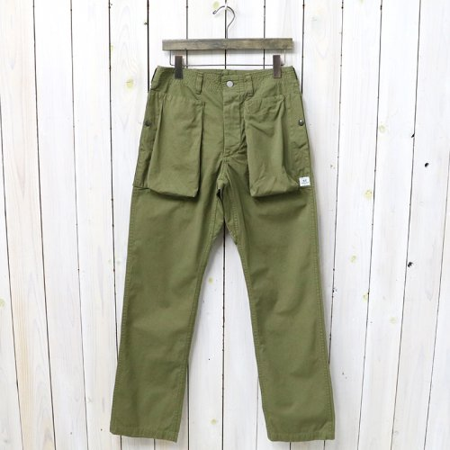 『DIGS CREW PANTS(WEATHER)』(OLIVE)