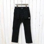 SASSAFRAS『DIGS CREW PANTS(SUMMER CORDUROY)』(BLACK)