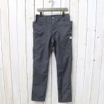 SASSAFRAS『FALL LEAF SPRAYER PANTS(T/R PLANE WEAVE)』(CHARCOAL)