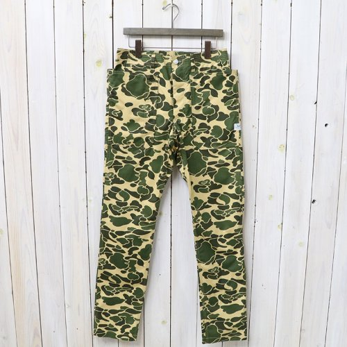 『FALL LEAF SPRAYER PANTS(WEEDS POPLIN)』(D.H.CAMO)