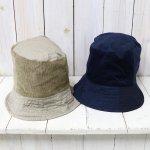ENGINEERED GARMENTS『Bucket Hat/6.5oz Flat Twill』