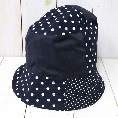 『Bucket Hat/Big Polka Dot Broadcloth』