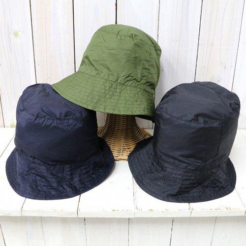 『Bucket Hat/Solid-Nylon Micro Ripstop』
