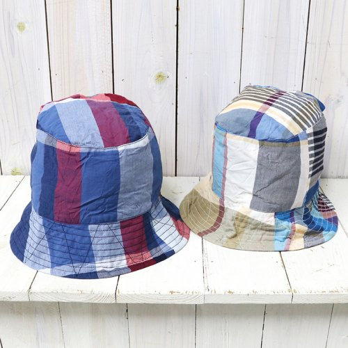 ENGINEERED GARMENTS『Bucket Hat/Solid-Big Madras Plaid』