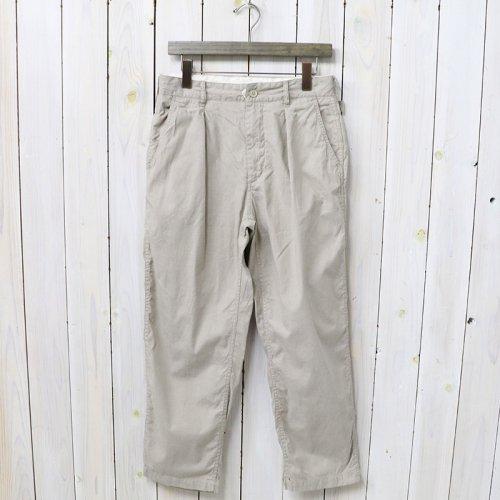 『Ground Pant-Cotton Cordlane』(Beige)