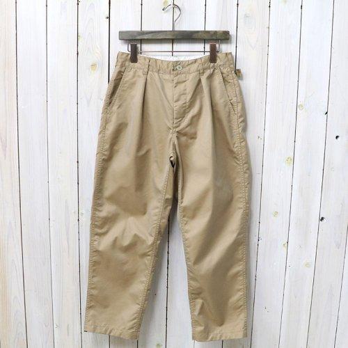 『Ground Pant-PC Iridescent Twill』(Khaki)