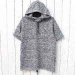 ENGINEERED GARMENTS『Short Sleeve Hoody-Heather Sweater Knit』(Navy)