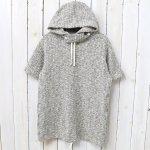 ENGINEERED GARMENTS『Short Sleeve Hoody-Heather Sweater Knit』(Tan)
