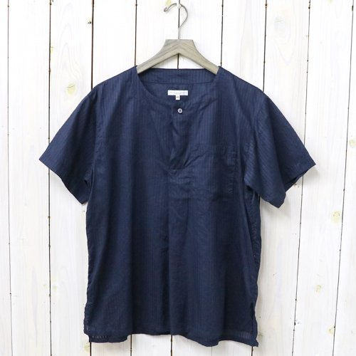 『MED Shirt-Tone&Tone Dobby St.』(Dk.Navy)
