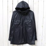 ENGINEERED GARMENTS『Cagoule Shirt-Nylon Taffeta』(Black)