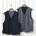 ENGINEERED GARMENTS『Reversible Vest-Tropical Wool & Glen Plaid』