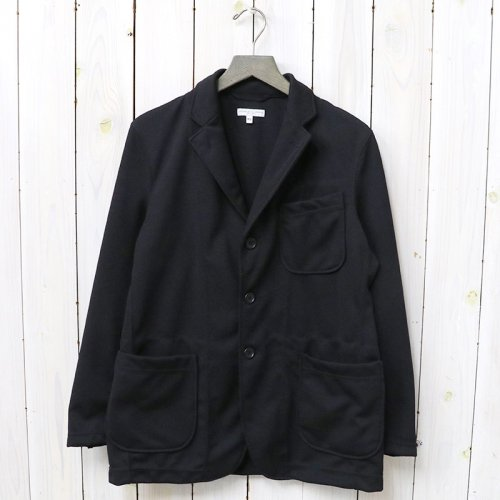 ENGINEERED GARMENTS『Knit Jacket-Baseball Doubleknit』(Black)