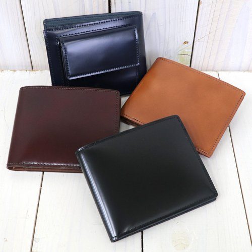 ARTS & CRAFTS『CORDOVAN ACC-BILLFOLD WALLET W/COIN PURSE』