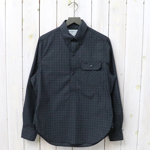SASSAFRAS『GREEN THUMB SHELL SHIRT(TARTAN CHECK)』(CHECK2)