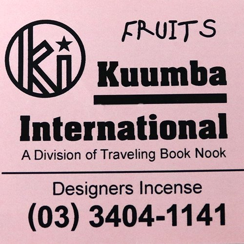 KUUMBA『incense』(FRUITS)