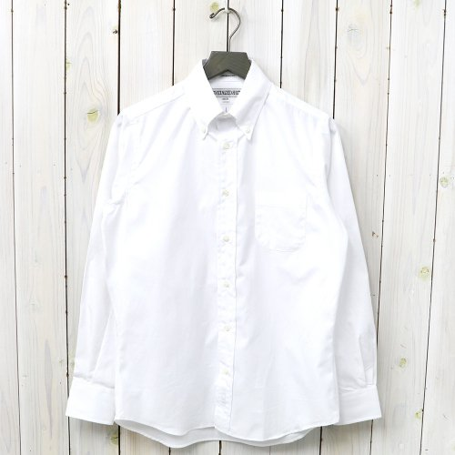 INDIVIDUALIZED SHIRTS『PINPOINT TWO PLY 80s』(WHITE)