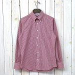 INDIVIDUALIZED SHIRTS『SMALL GINGHAM CHECK』(RED)