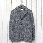ENGINEERED GARMENTS『Knit Jacket-Heather Sweater Knit』(Navy)