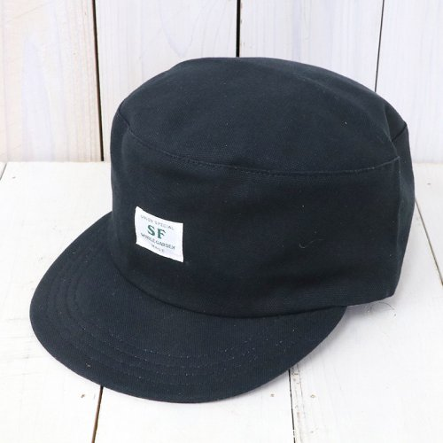 SASSAFRAS『SEEDS BOX CAP(DUCK)』(BLACK)