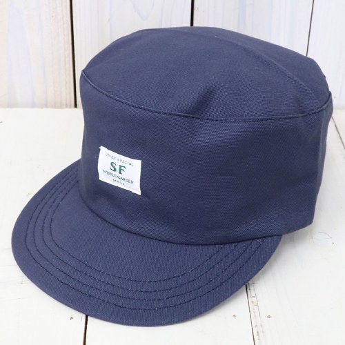 『SEEDS BOX CAP(DUCK)』(NAVY)