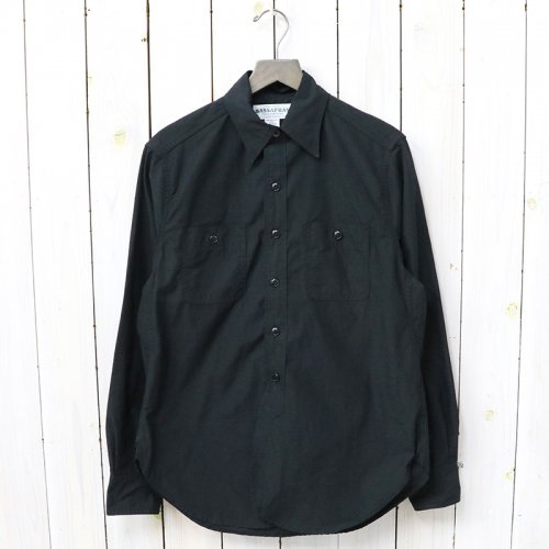 SASSAFRAS『SPRAYER SHIRT(RIPSTOP)』(BLACK)