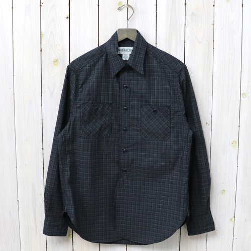 SASSAFRAS『SPRAYER SHIRT(TARTAN CHECK)』(CHECK2)